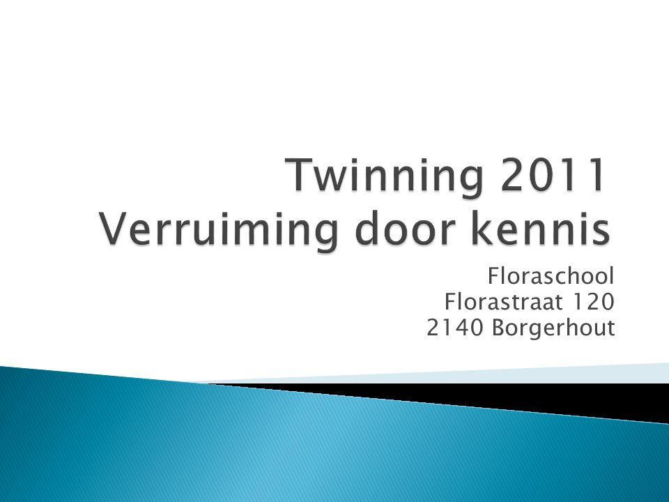 Twinning 2011 Verruiming door kennis