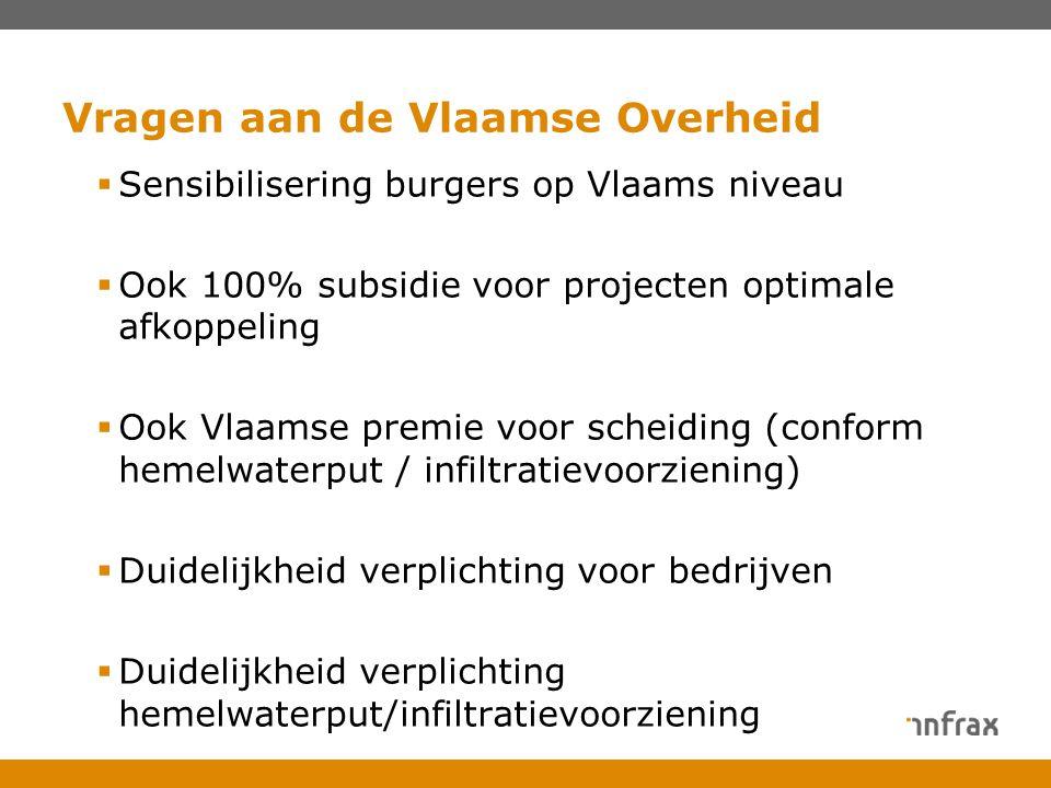 Vragen aan de Vlaamse Overheid