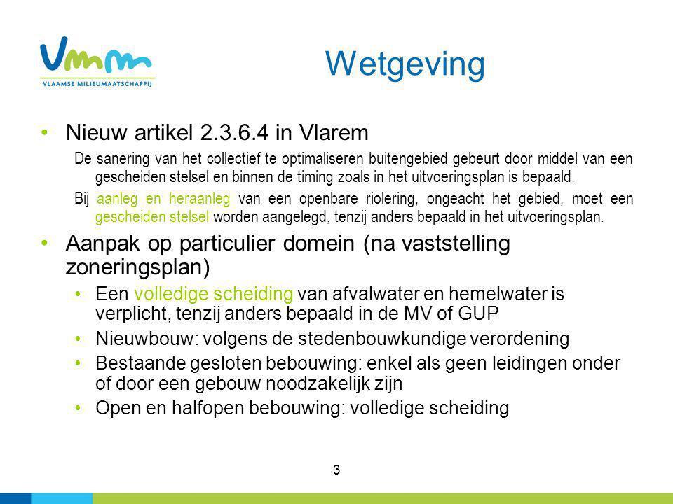 Wetgeving Nieuw artikel 2.3.6.4 in Vlarem