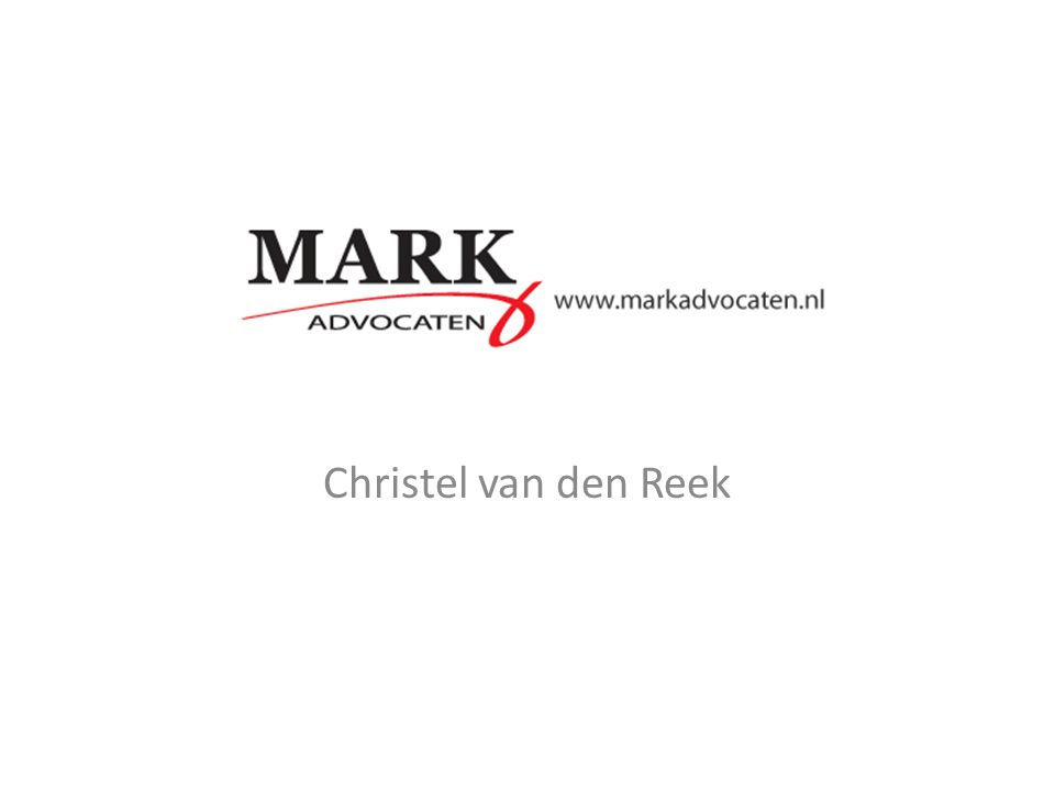 MARK Advocaten Christel van den Reek