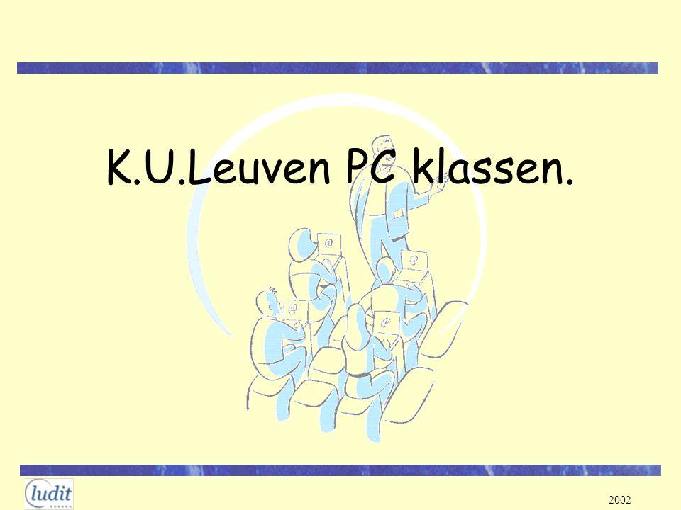 K.U.Leuven PC klassen.