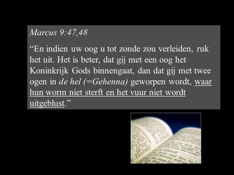 Marcus 9:47,48
