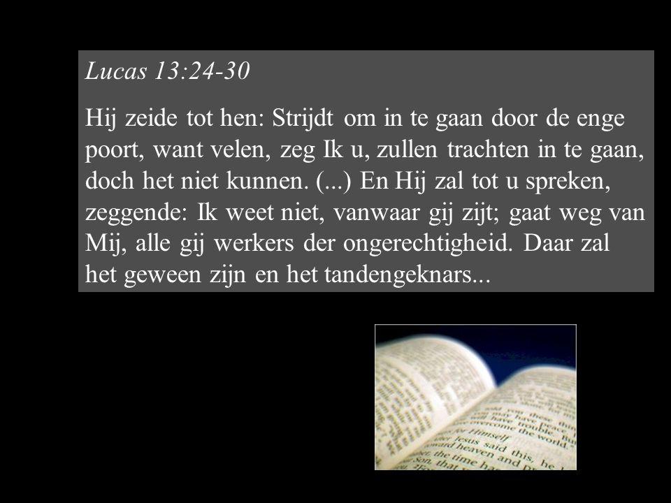 Lucas 13:24-30