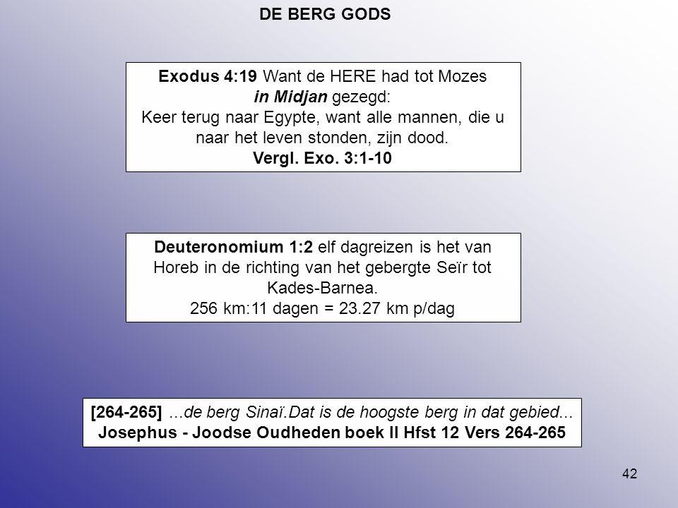 Josephus - Joodse Oudheden boek II Hfst 12 Vers 264-265