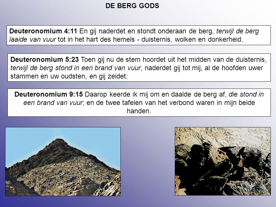 DE BERG GODS
