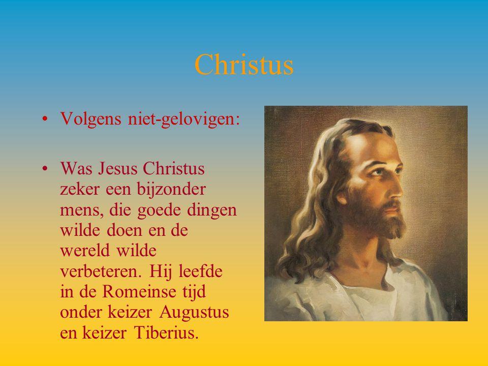 Christus Volgens niet-gelovigen: