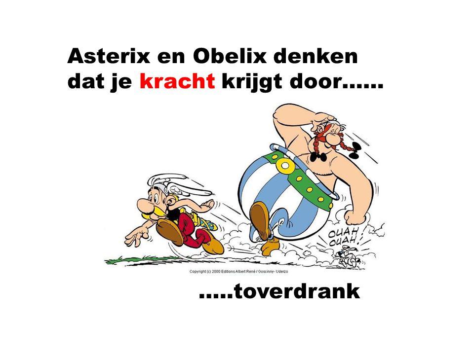 Asterix en Obelix denken