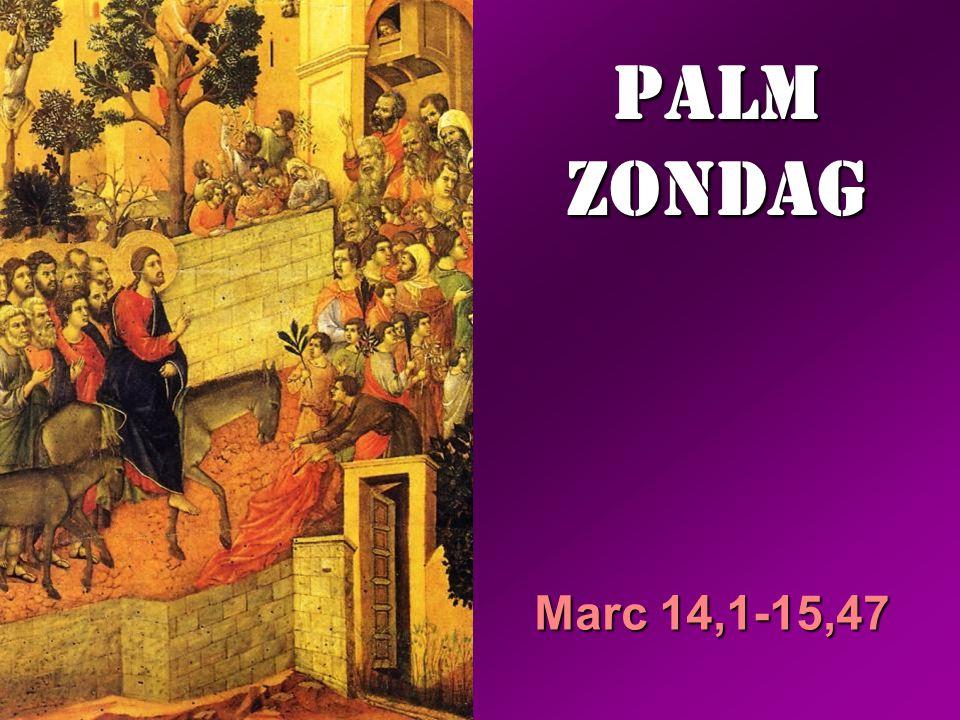 PALM ZONDAG Marc 14,1-15,47