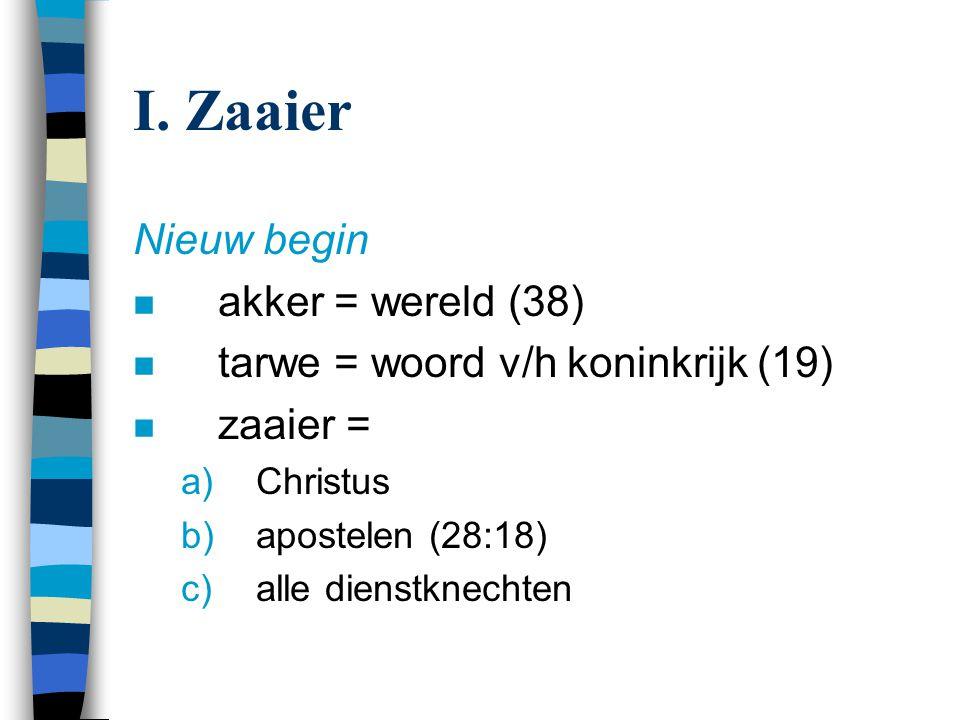 I. Zaaier Nieuw begin akker = wereld (38)