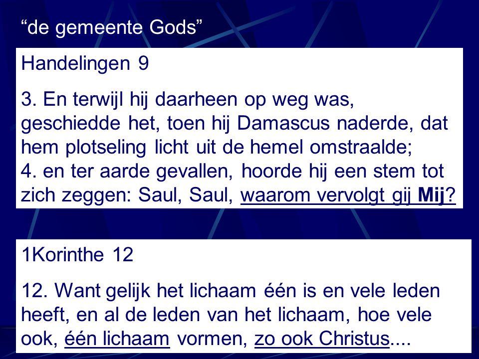 de gemeente Gods Handelingen 9.