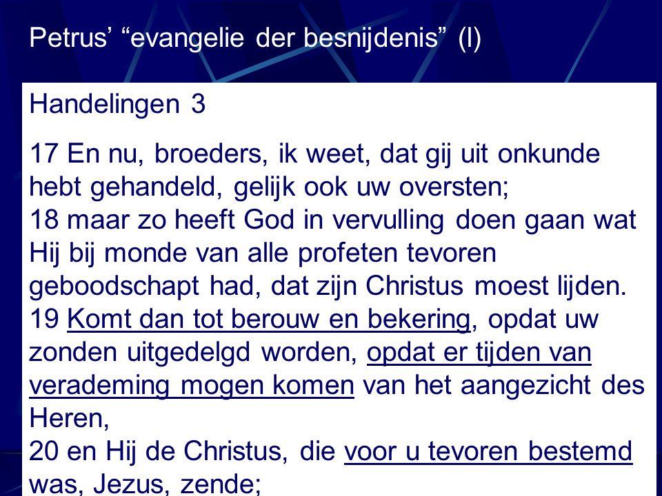 Petrus' evangelie der besnijdenis (l)