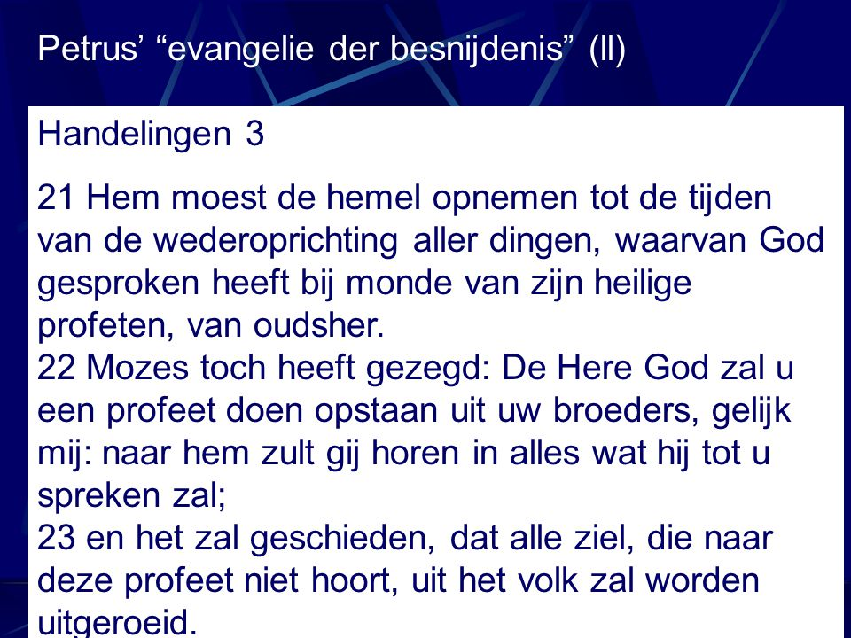 Petrus' evangelie der besnijdenis (ll)
