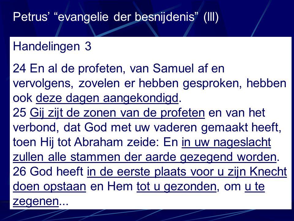 Petrus' evangelie der besnijdenis (lll)
