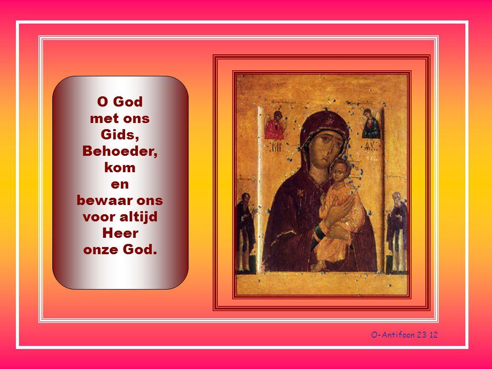 O God met ons Gids, Behoeder, kom en bewaar ons voor altijd Heer onze God.