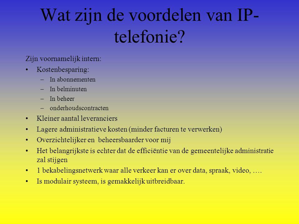 Wat zijn de voordelen van IP-telefonie