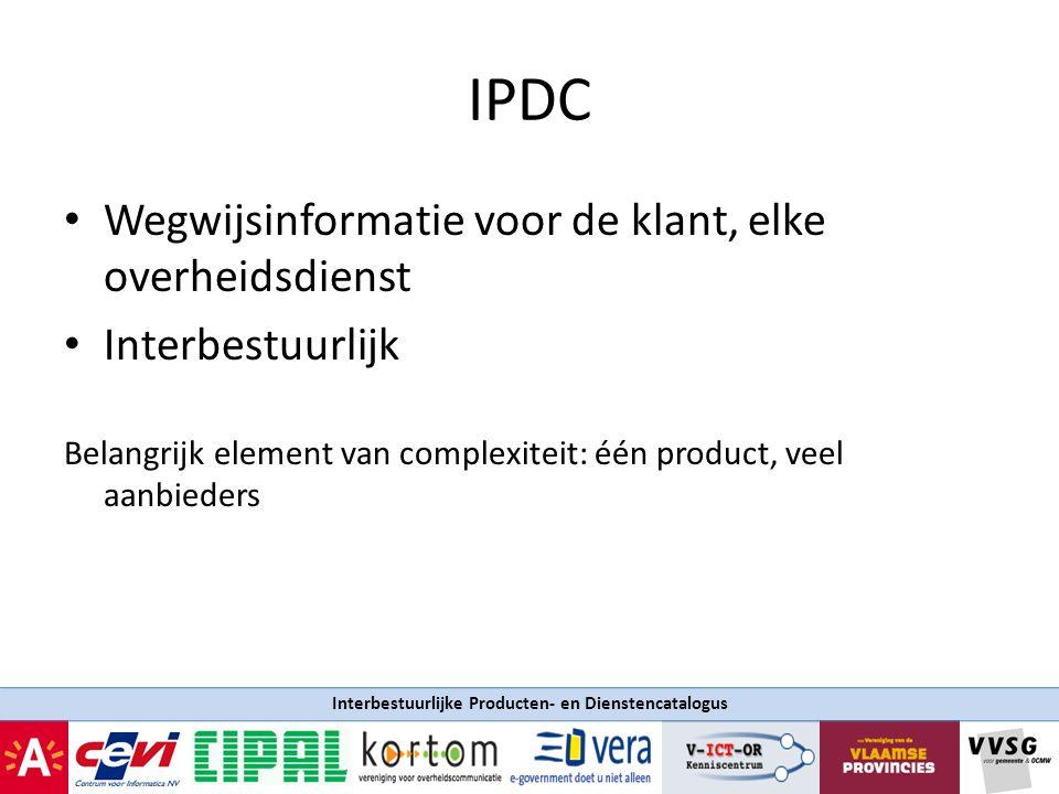Interbestuurlijke Producten- en Dienstencatalogus