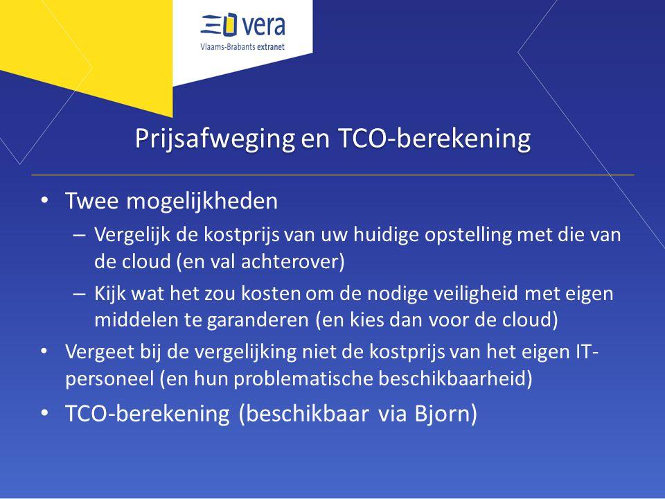 Prijsafweging en TCO-berekening