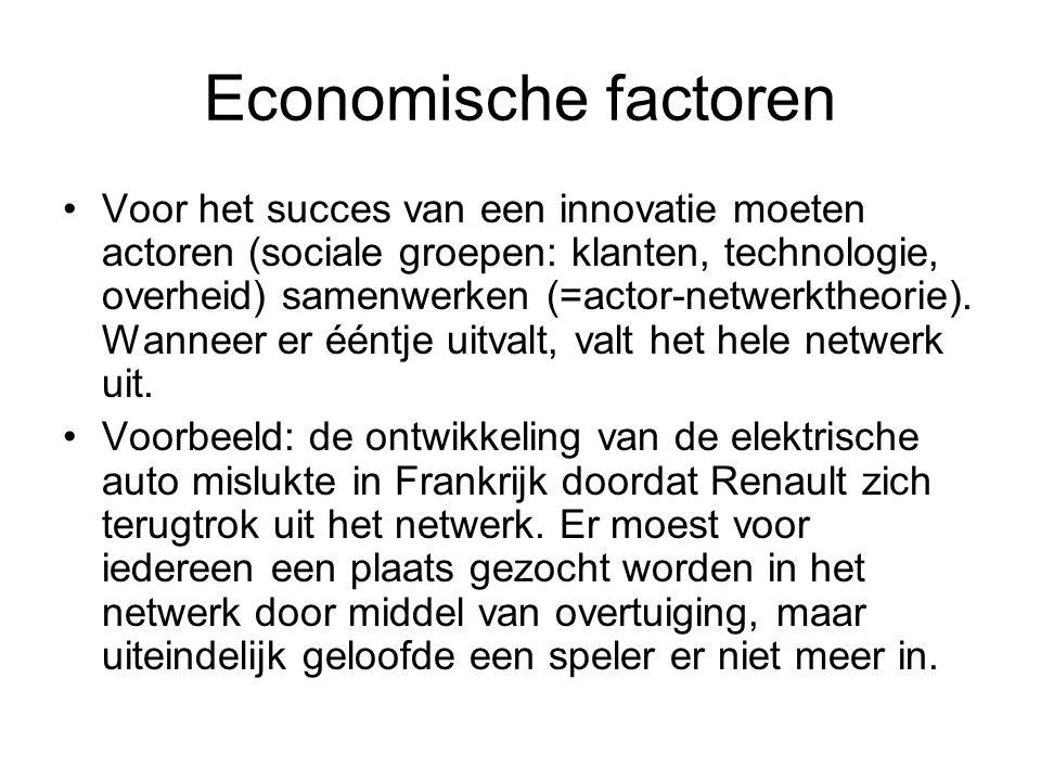 Economische factoren