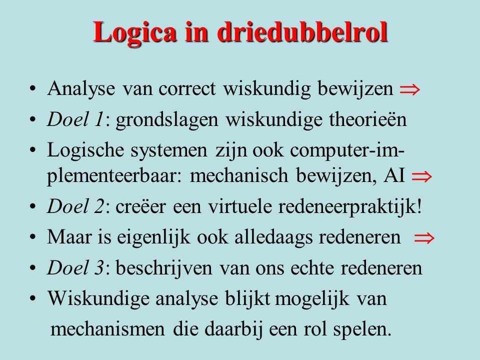 Logica in driedubbelrol