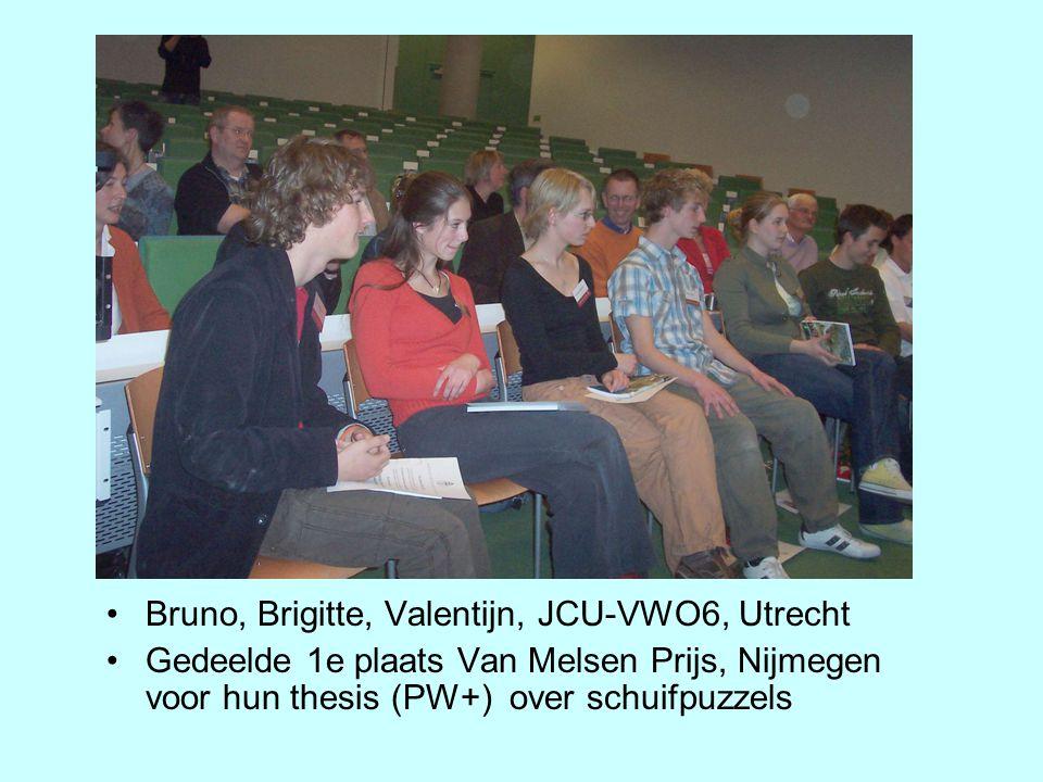 Bruno, Brigitte, Valentijn, JCU-VWO6, Utrecht
