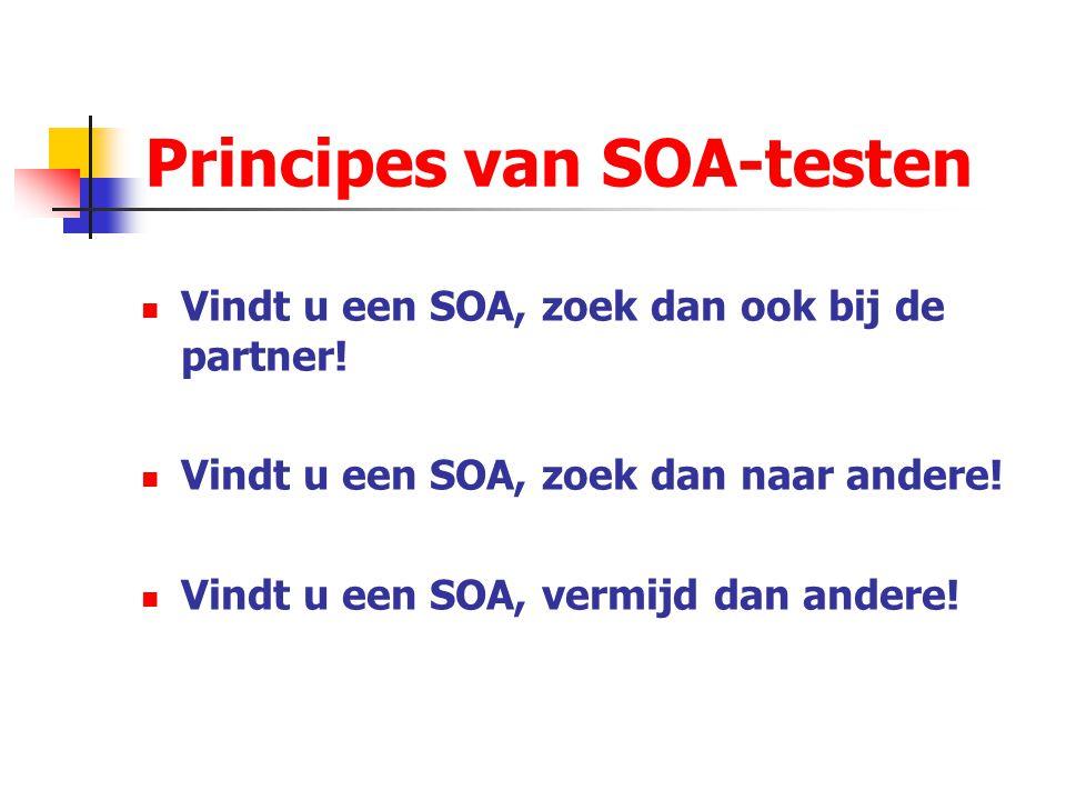 Principes van SOA-testen