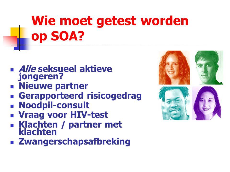 Wie moet getest worden op SOA