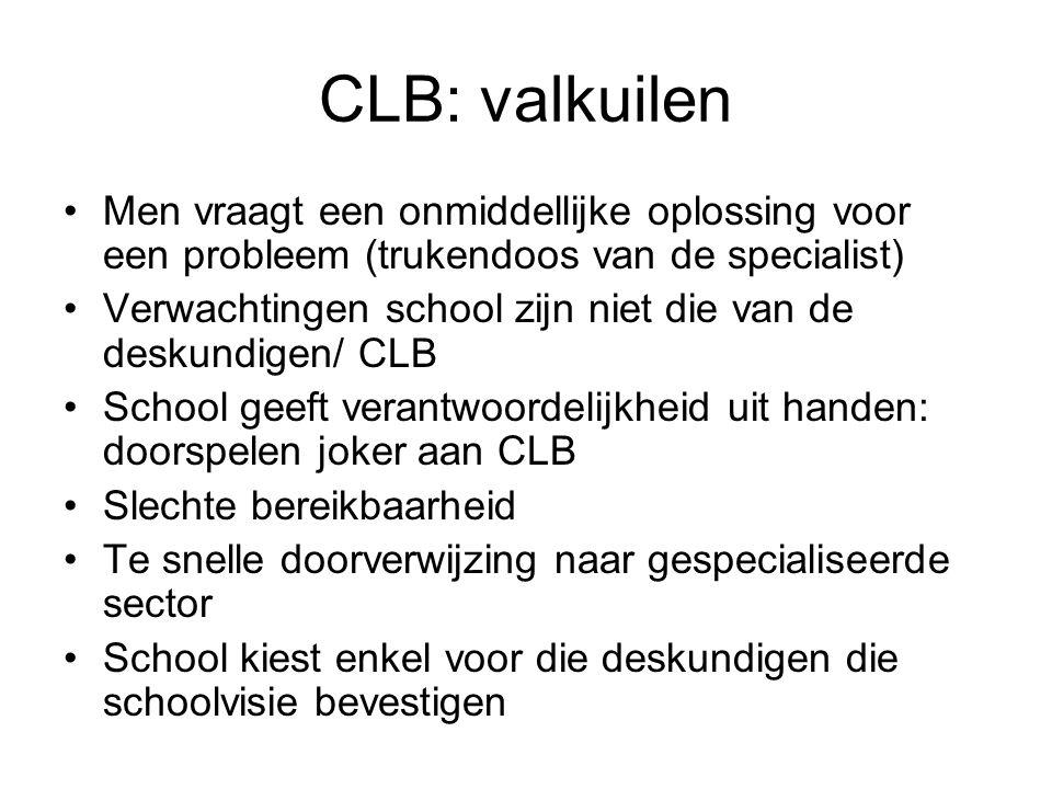 CLB: valkuilen Men vraagt een onmiddellijke oplossing voor een probleem (trukendoos van de specialist)