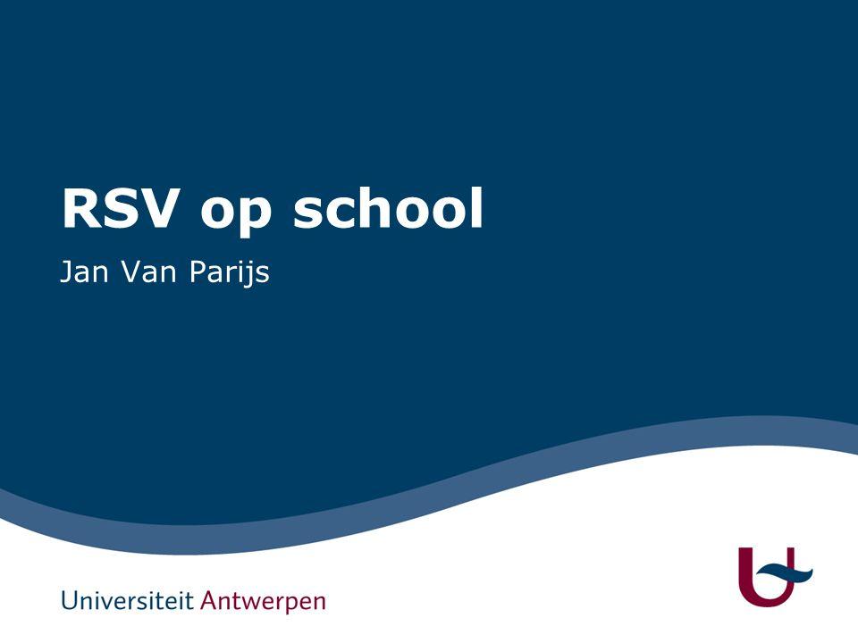 RSV op school Jan Van Parijs