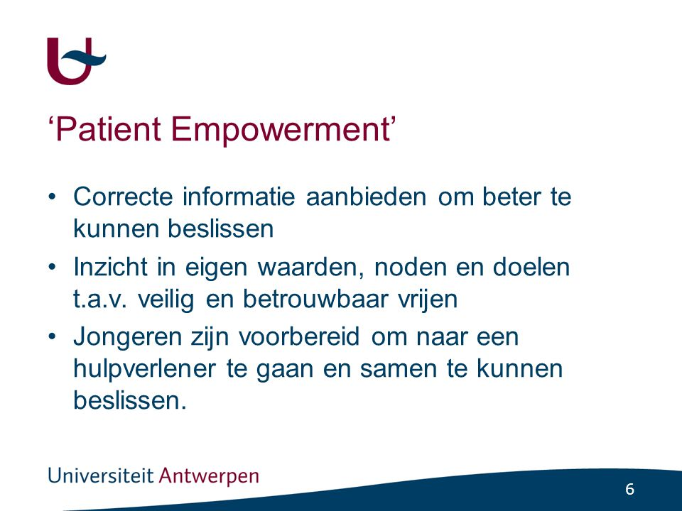 'Patient Empowerment'