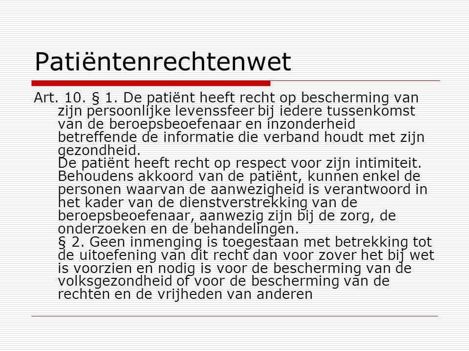 Patiëntenrechtenwet