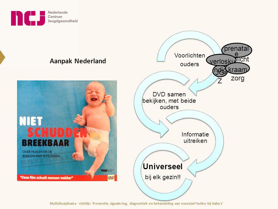 Universeel Aanpak Nederland prenatale voorlichters verloskundige