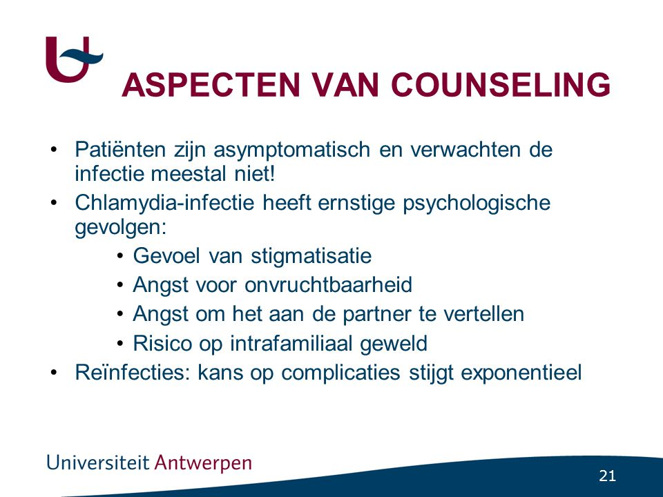 ASPECTEN VAN COUNSELING