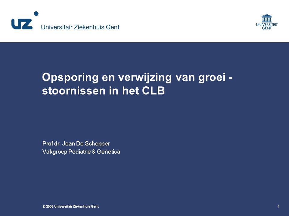Opsporing en verwijzing van groei -stoornissen in het CLB