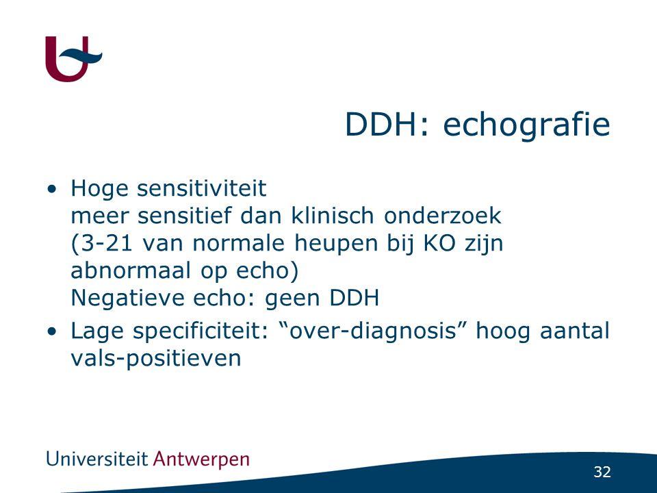 DDH: echografie