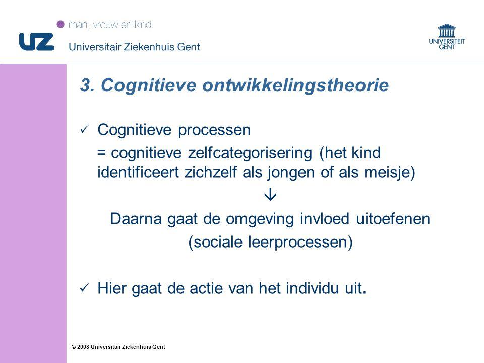 3. Cognitieve ontwikkelingstheorie