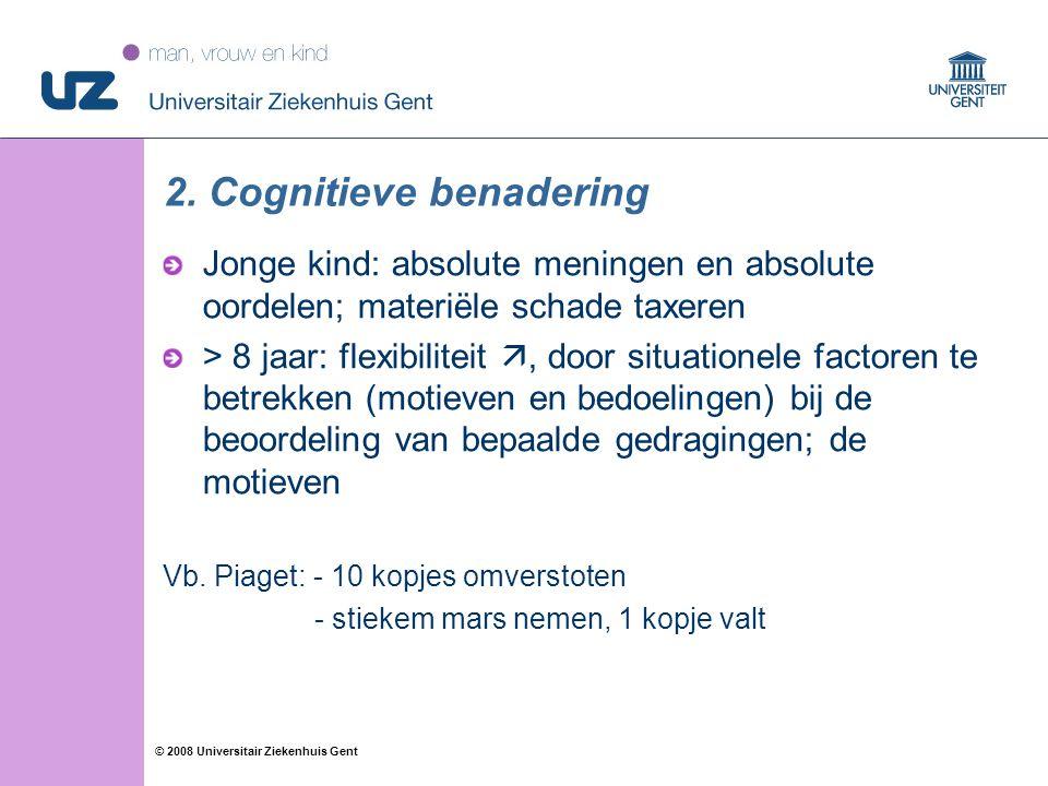 2. Cognitieve benadering