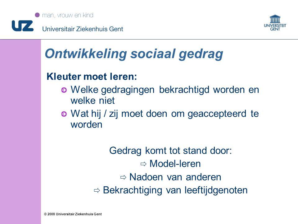Ontwikkeling sociaal gedrag