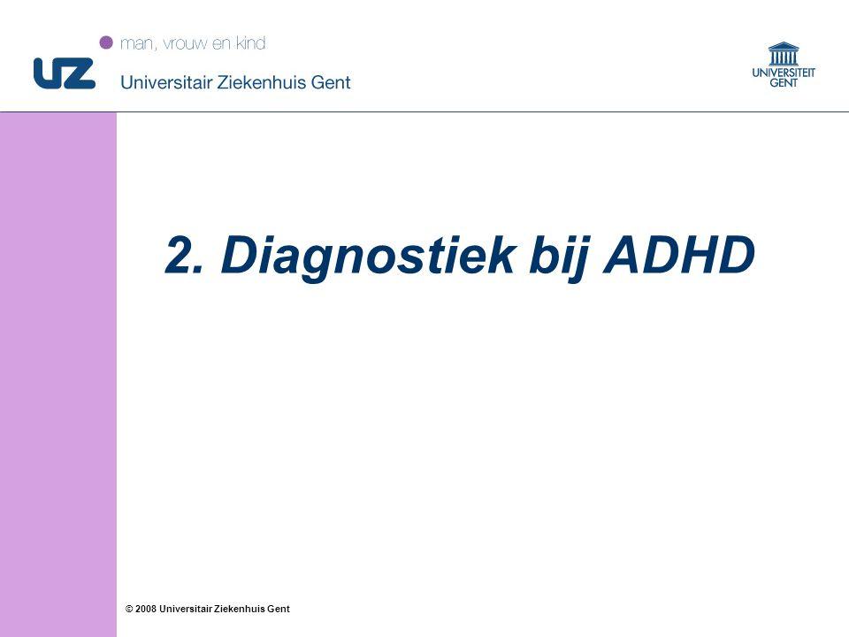 2. Diagnostiek bij ADHD