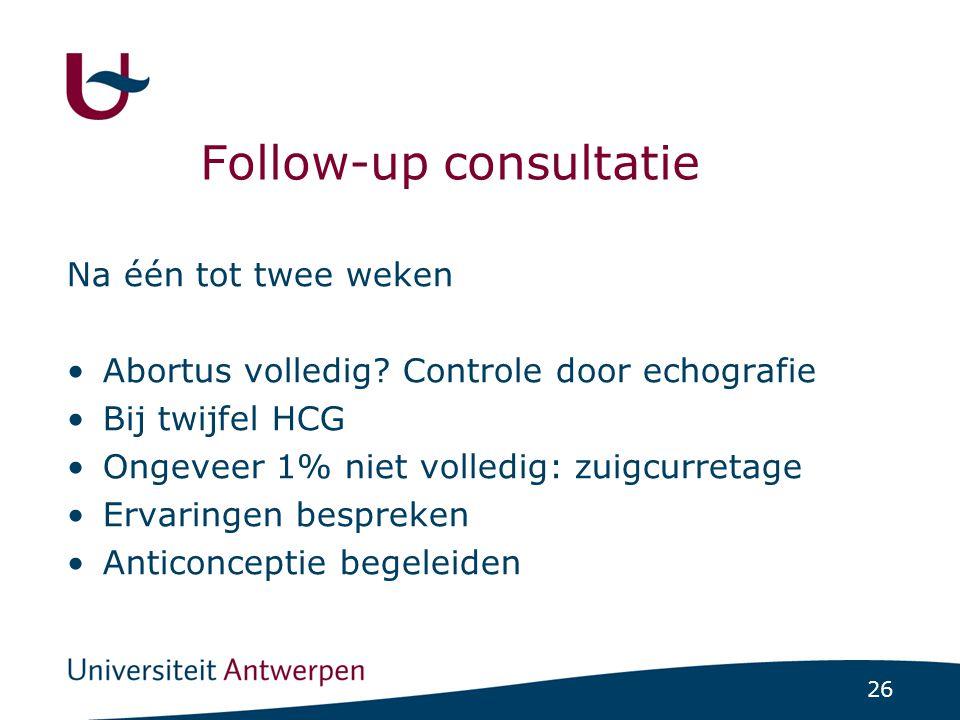 Follow-up consultatie