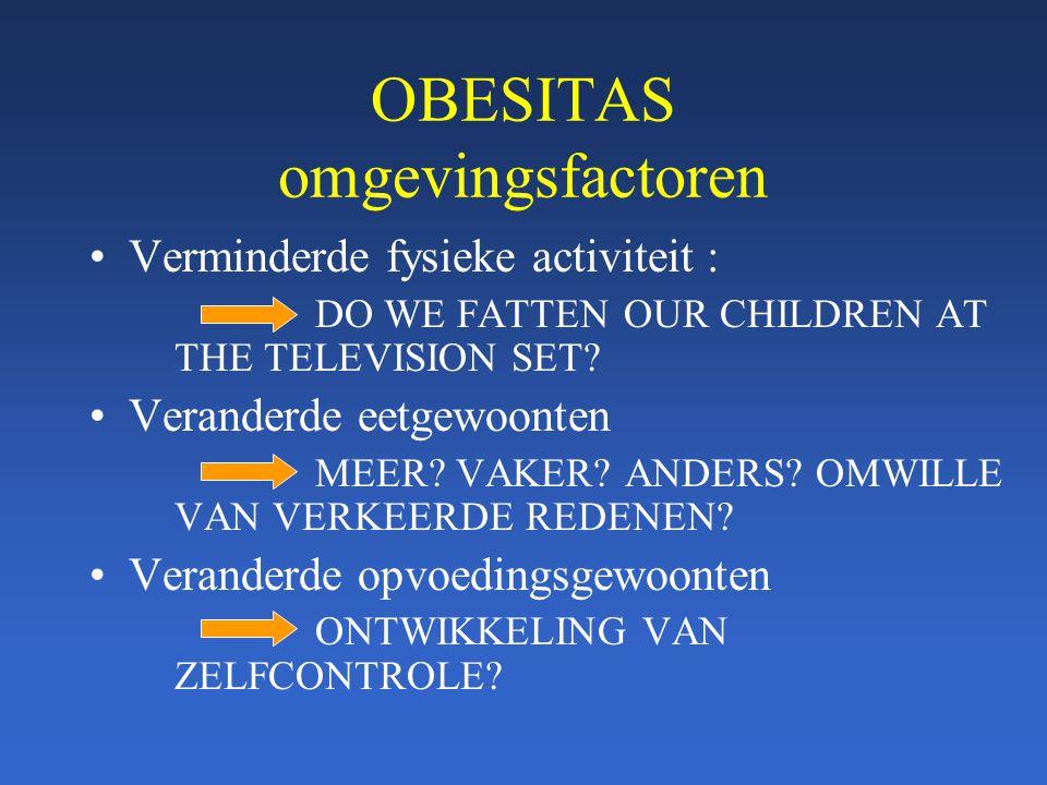 OBESITAS omgevingsfactoren