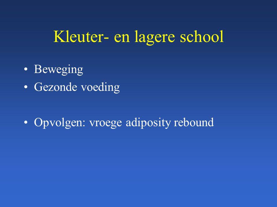 Kleuter- en lagere school