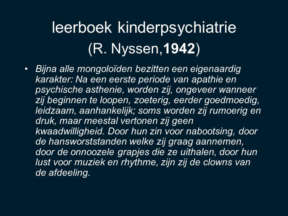 leerboek kinderpsychiatrie (R. Nyssen,1942)