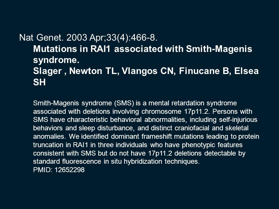 Nat Genet. 2003 Apr;33(4):466-8.