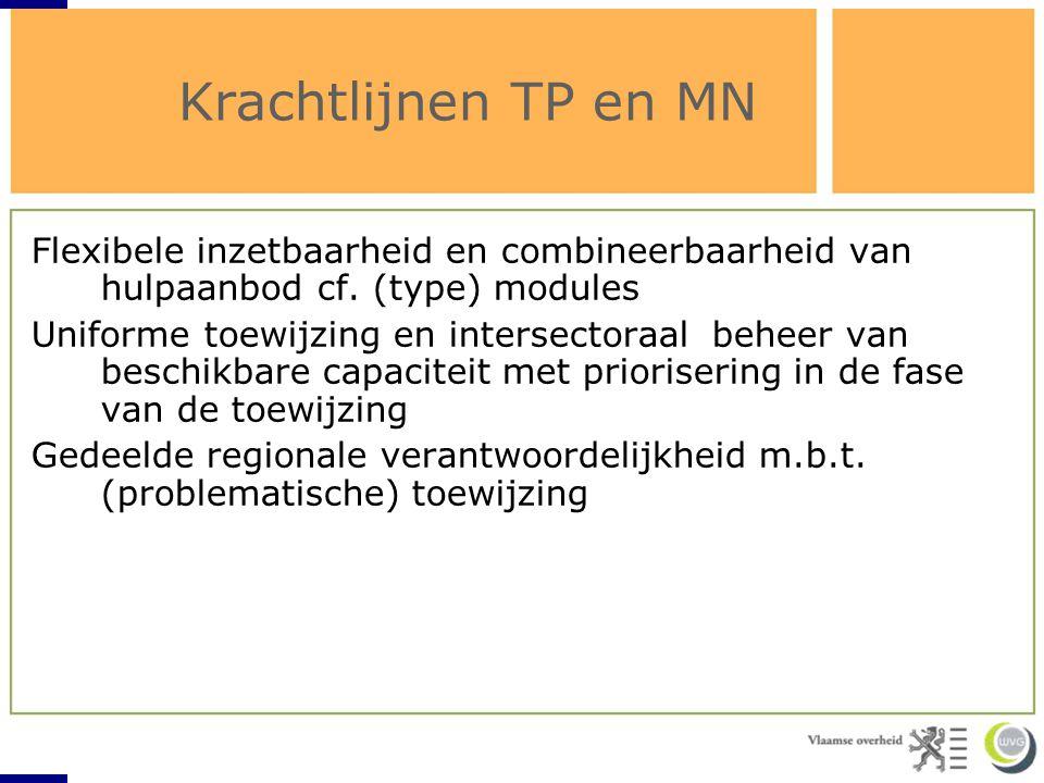 Krachtlijnen TP en MN belang (versterkte) werking netwerken RTJ en CJ;