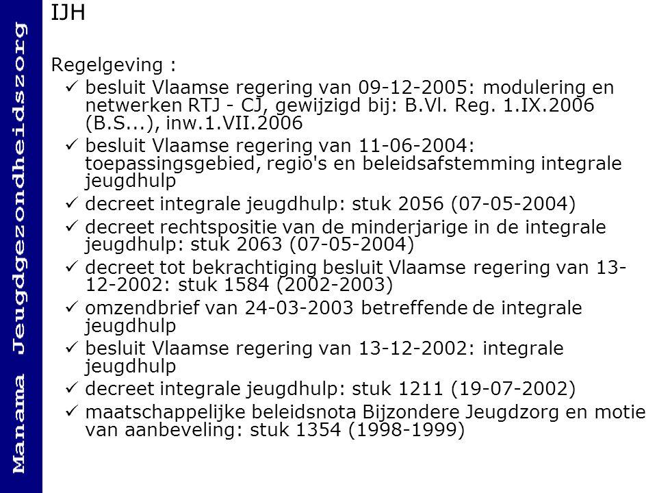 IJH Regelgeving :