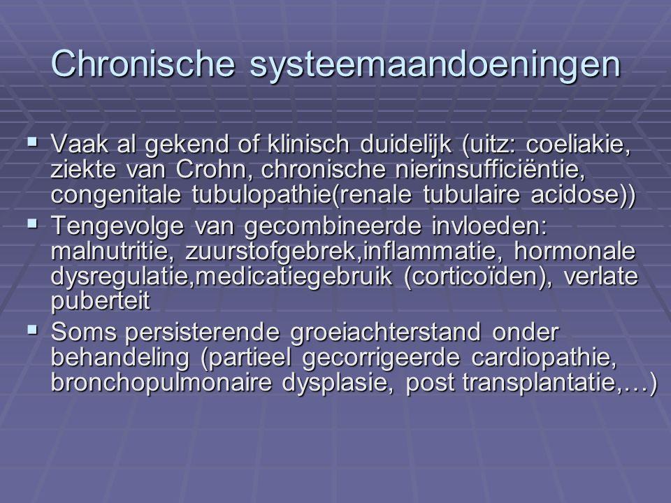 Chronische systeemaandoeningen