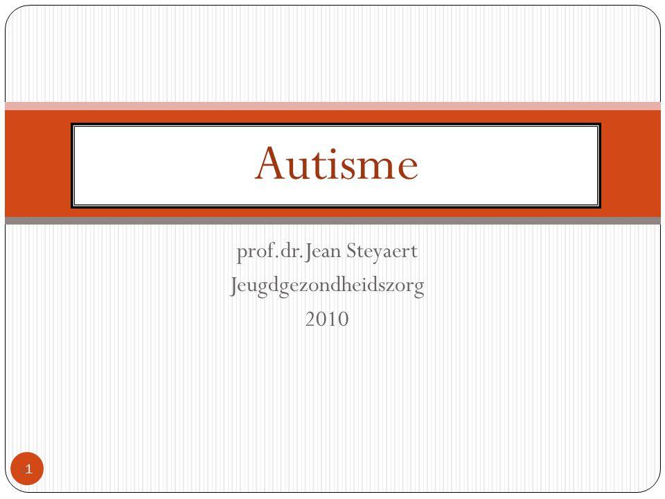 prof.dr.Jean Steyaert Jeugdgezondheidszorg 2010