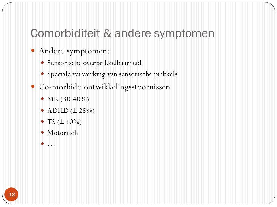 Comorbiditeit & andere symptomen