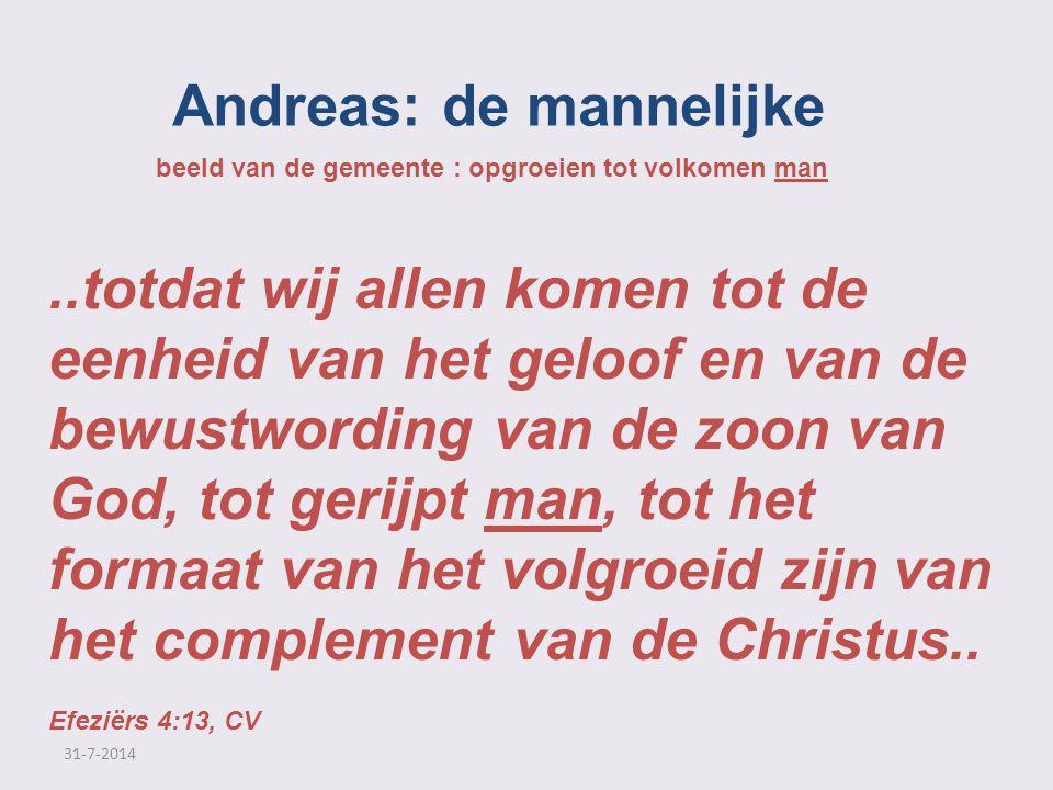 Andreas: de mannelijke