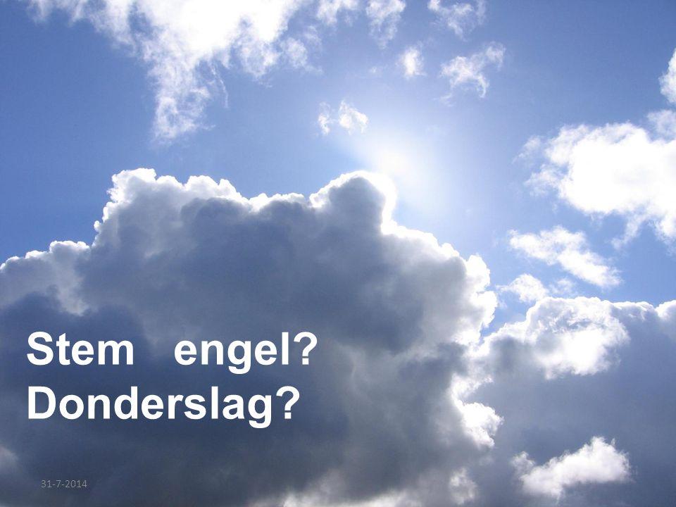 Stem engel Donderslag 4-4-2017